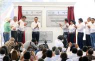 Entregan Silvano Aureoles y Enrique Peña infraestructura por casi 3 mil mdp