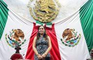 Noemí Ramírez Bravo, presidenta de la Mesa Directiva en el Congreso local