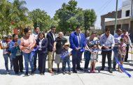 """Entregan terminada la pavimentación de la calle """"Guadalupe Victoria"""" En Tangancícuaro"""