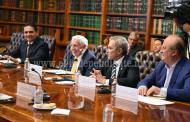Revisa Gobernador con SEGOB protocolos de seguridad para proceso electoral