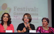 Presenta Gobierno del Estado Primer Festival de la Gastronomía Michoacana
