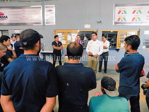 Realizará Sergio Flores foros ciudadanos legislativos