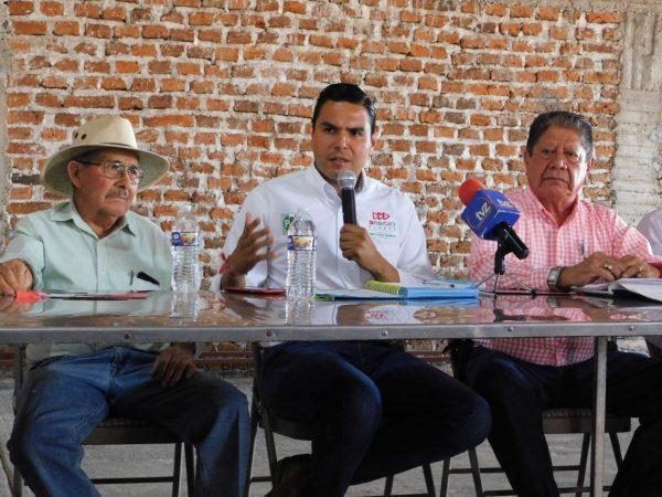 Empresarios de Zamora respaldan proyecto económico de Sergio Flores