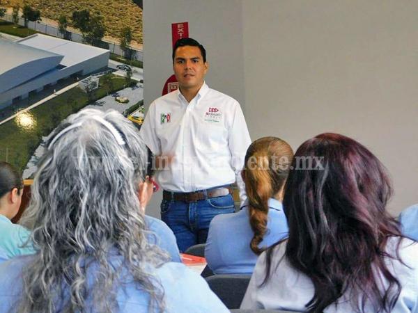 Impulsará Sergio Flores economía y empleo en distrito 5
