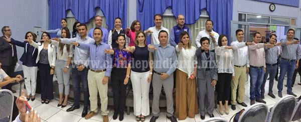 PAN y PRD presentan planilla a la presidencia municipal de Zamora