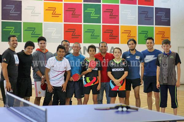 Realizaran primer torneo selectivo estatal de ping pong en Zamora