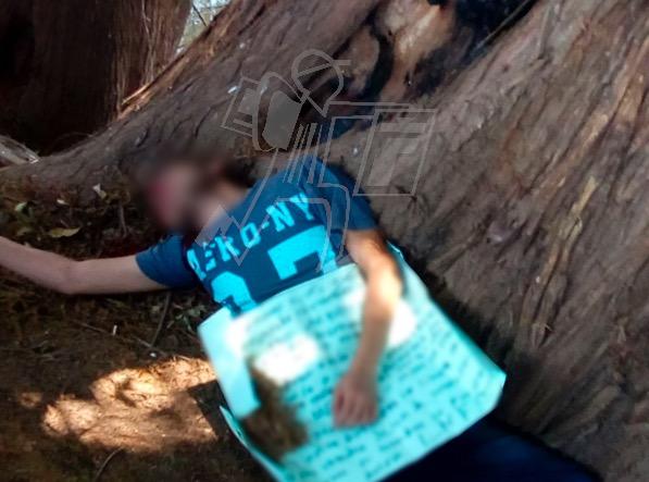 Localizan ejecutado en Chaparaco