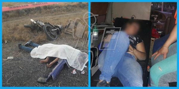Adolescentes derrapan en moto, una muere en Zamora