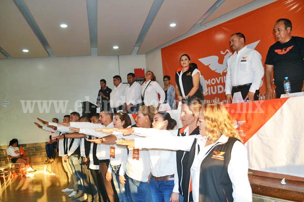 Tomó protesta comisión operativa municipal del partido Movimiento Ciudadano