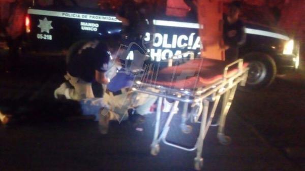 Hombre de la tercera edad queda herido al ser embestido por patrulla