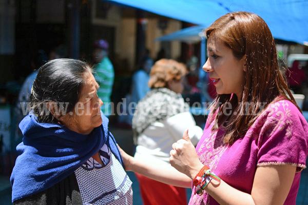 Con participación activa, PRI consolidará su fuerza y triunfo el 1º de julio: Eva María Pimentel