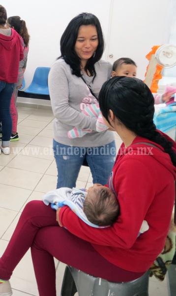 Abren primer espacio  de lactancia materna en Centro de Salud Niños Héroes