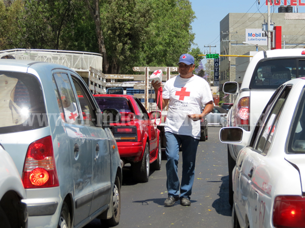 Lamentó Cruz Roja poca participación de población en  colecta anual