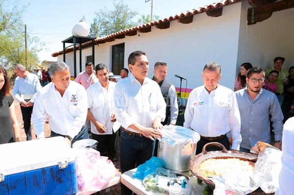 Tiene Totolán, Jiquilpan, su Comedor Comunitario rehabilitado