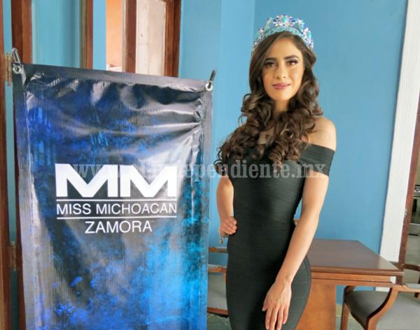 Buscan a Miss Zamora 2018, que tenga belleza, inteligencia y disciplina