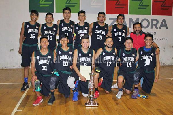 Cenzontles campeón del torneo final estatal U-18 varonil, derrotaron a Raven Jacona