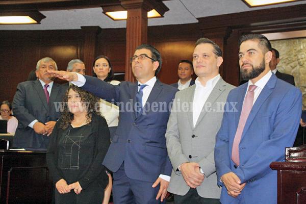 Roberto García Escobar continúa trabajando a favor de Tangancícuaro