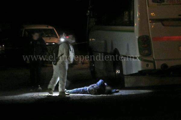 A tiros matan a un joven en Valle Dorado, de Zamora