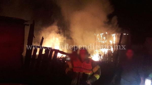 Se queman dos casas en Zamora