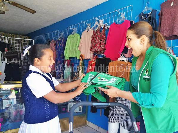 Yurécuaro recibió con beneplácito a Alma Inocencio