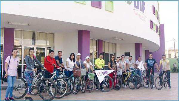 Conmemora DIF Jacona día mundial de la bicicleta