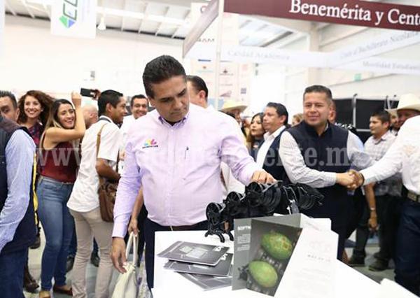 ¡Inicia la Expo Fiesta Michoacán 2018!