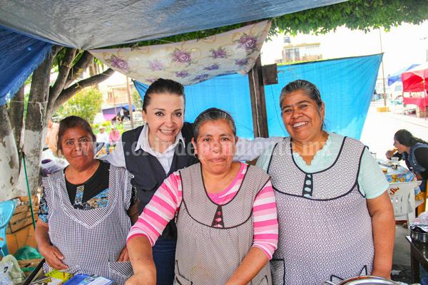 La gente de Numarán es trabajadora y de buen corazón: Eréndira Castellanos