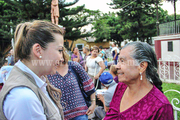 Tenencia de Ario de Rayón respalda a Eréndira Castellanos como candidata a Diputación Federal