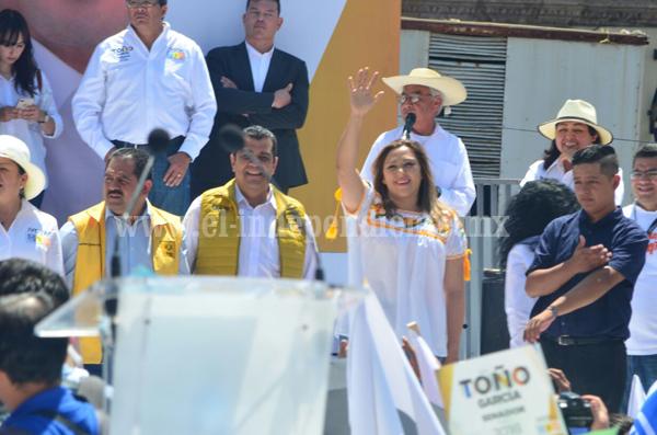"""""""En Michoacán vamos unidos y de frente"""""""