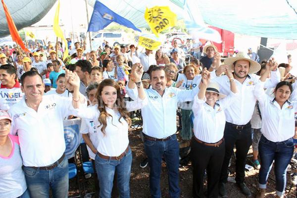 Mi campaña es de propuestas: Ángel Macías