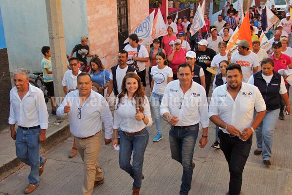 La transformación de Michoacán está al Frente con Eréndira Castellanos