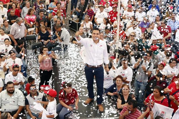 Con éxito y gran respaldo, cerró Sergio Flores campaña en Zamora, La Piedad e Ixtlán