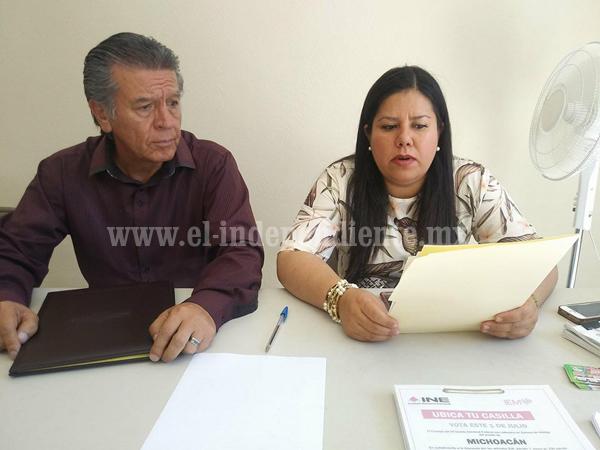 Candidatos de Nueva Alianza se bajan de la contienda electoral en Zamora