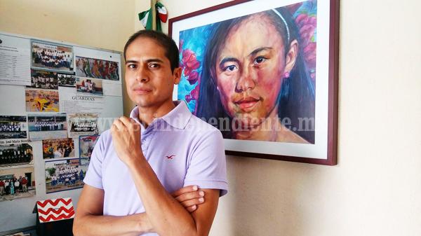 """""""Arte es antítesis de la violencia, ayuda a edificar espíritu"""": Alberto Barriga, artista plástico"""