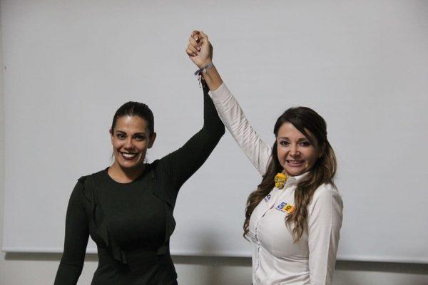 Declina Alma Ruth Inocencio a favor de Eréndira Castellanos por la Diputación Federal.
