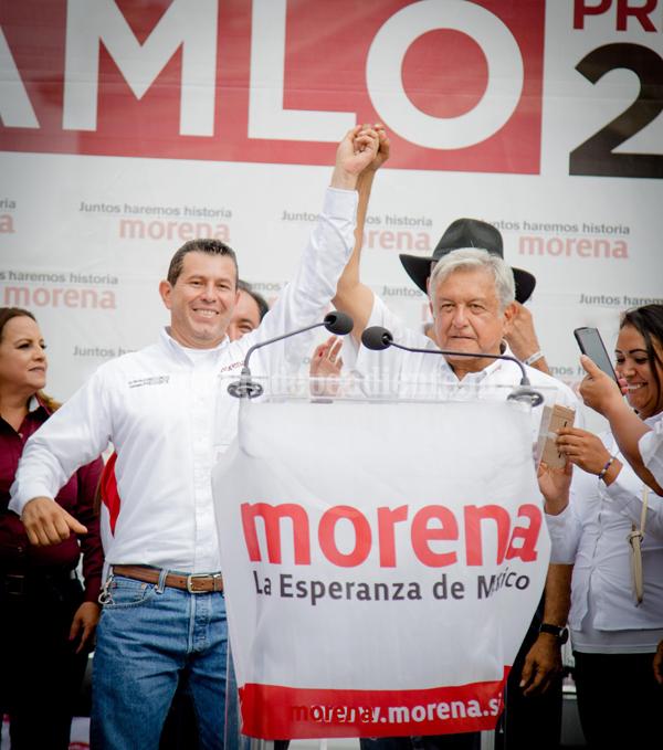 Martín Arredondo coincidió con AMLO, urge regenerar el país