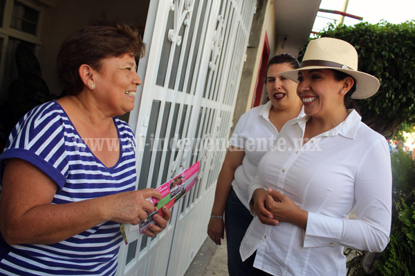 Incluidos todos los sectores de la población en el proyecto de gobierno de Adriana