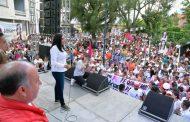 """Jacona ya decidió y va con Adriana  """"Nuestra campaña está sustentada con experiencia, trabajo y propuestas que beneficien a todos los jaconenses"""": Adriana Campos"""