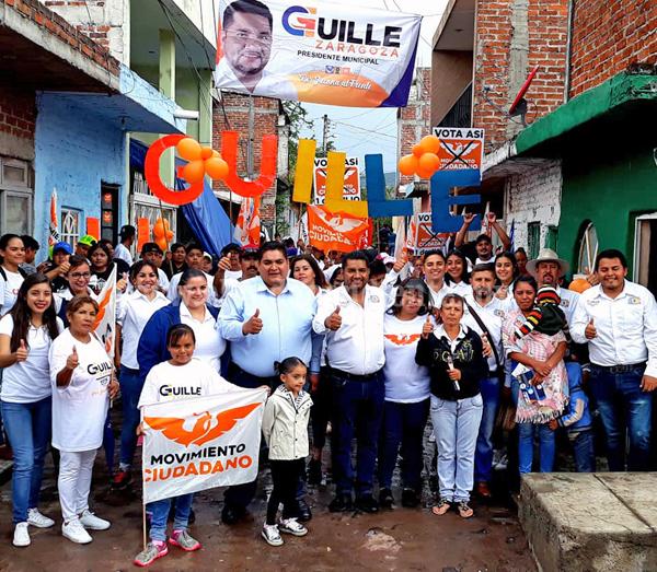 Ofrezco mi trabajo para todos los sectores, en especial por los más vulnerables: Guille Zaragoza