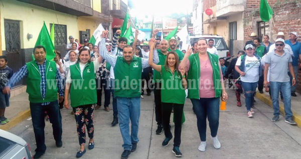 """""""Estamos seguros de que Isidoro Mosqueda será nuestro presidente municipal"""""""