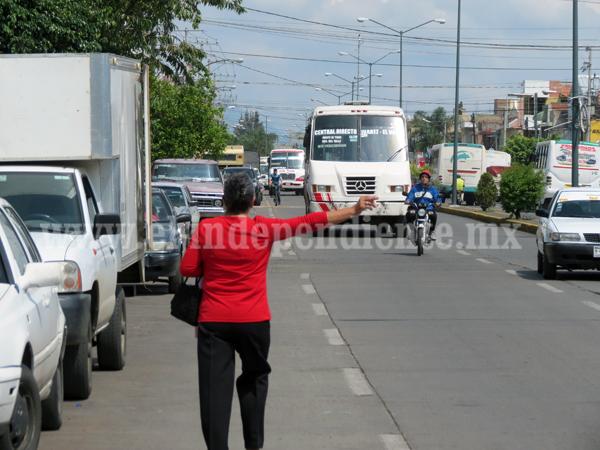 Concesionarios ponen sobre la mesa de COCOTRA subir transporte a 10 pesos