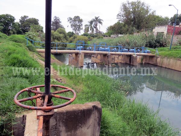 Insuficiente el agua en canales de módulo de riego n° 2