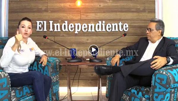 """""""Que los hechos y las acciones hablen"""": Eréndira Castellanos"""