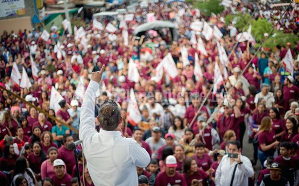 """""""Retomaremos el rumbo de Jacona, encaminaremos desarrollo para un mejor progreso"""""""