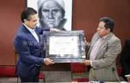 Recibe Gobernador a alcalde de Angangueo