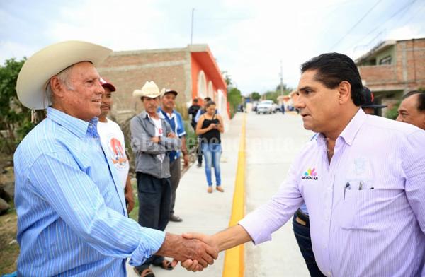 Supervisa Gobernador infraestructura vial en Zamora