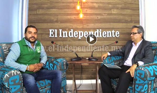 """""""Voten por el partido verde, es el cambio que Zamora necesita"""": Memo Méndez"""