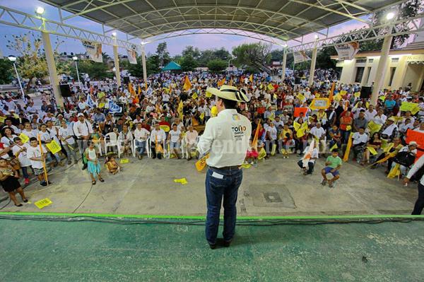 Toño García, por mayores oportunidades de empleo