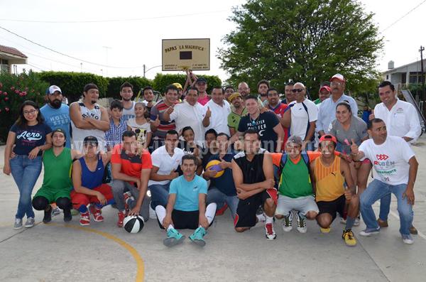 Realizan torneo relámpago de basquetbol en el Fovissste
