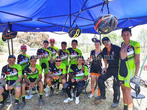 Equipo RXS Total Bike Zamora pelea posiciones en la copa Licimo de ciclismo